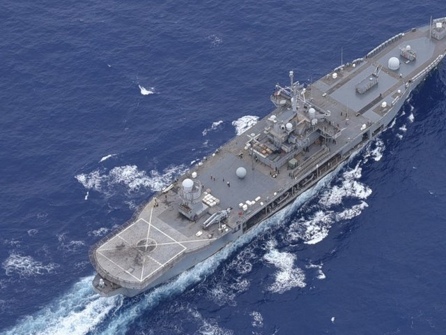 The Navy's oldest operational ship has set a record for time underway as the coronavirus keeps it at sea