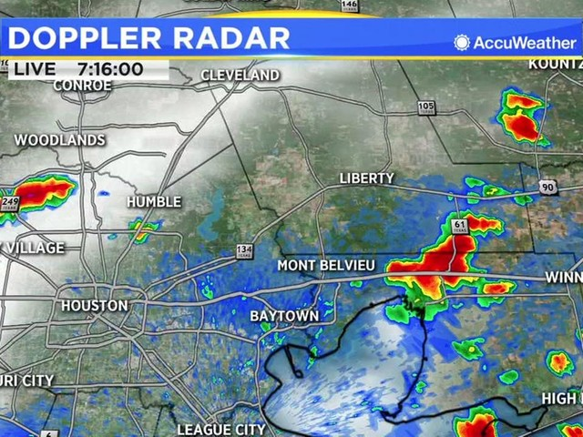 One Minute Weather: Rain chances remain through Sunday