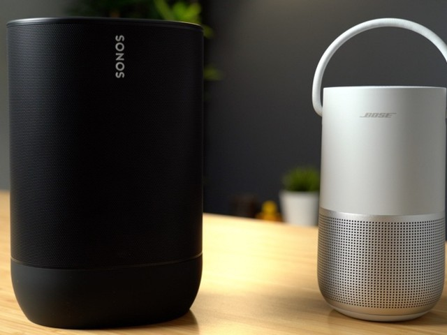 AirPlay 2 Speakers Compared: Sonos Move vs. Bose Portable Home Speaker