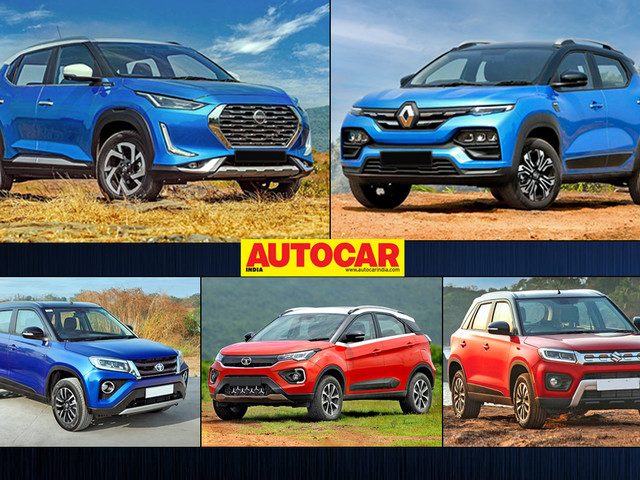 5 most affordable automatic SUVs in India