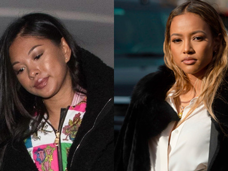 Chris Brown's Ex Ammika Harris Claps Back After Fan Accuses Her Of Copying Karrueche Tran's Hair