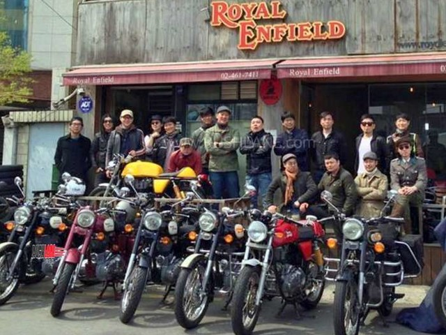 Royal Enfield enters South Korea with Bullet, Classic, Himalayan