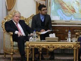 British foreign secretary meets Iran's president