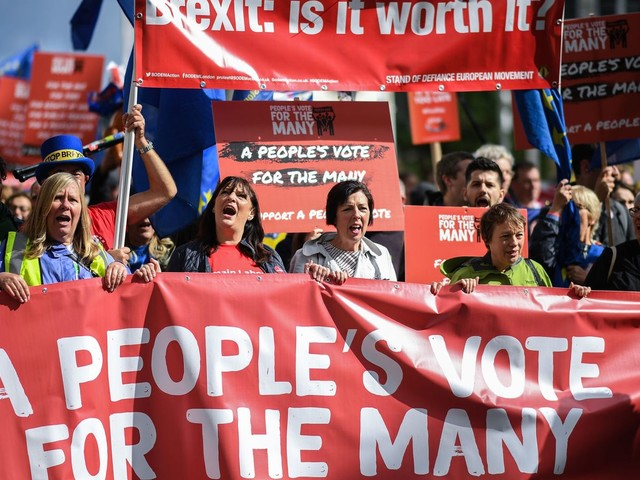 """Ditch Brexit """"fantasies"""" and back new poll: bosses"""
