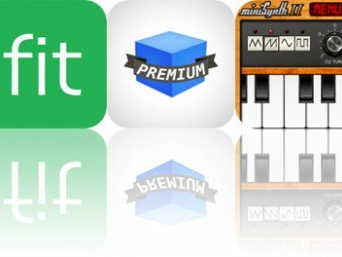Today's Apps Gone Free: Qmoji, Fit Meals, Drop Block and More