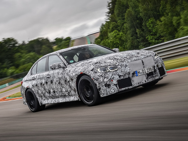 First drive: 2020 BMW M3 prototype
