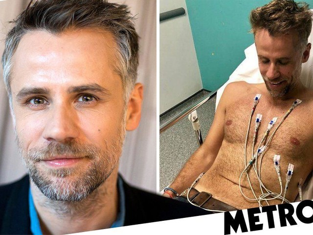 'I am alive': Richard Bacon sends message as he recovers from double pneumonia following coma