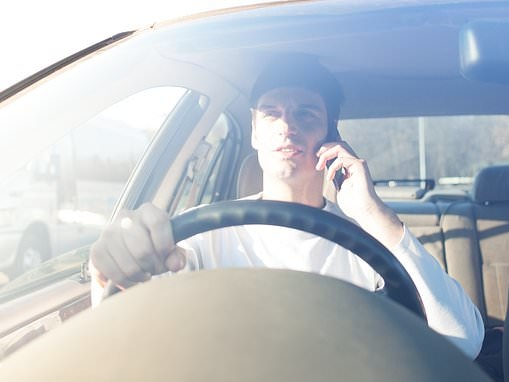 Just 13,000 drivers are convicted for using a phone at the wheel a year