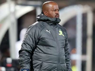 Mamelodi Sundowns' Mngqithi cries foul after Swallows FC draw: Against Orlando Pirates there was blatant penalty