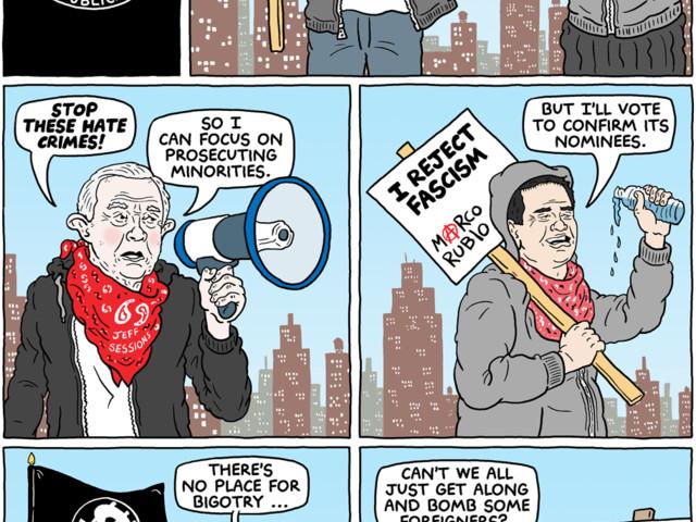 Cartoon: Meet the Republican 'resistance'