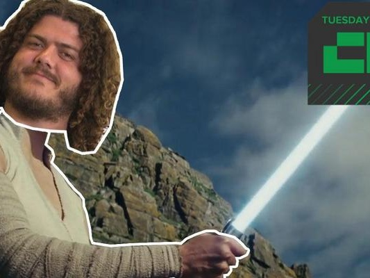 "Crunch Report | New Star Wars ""The Last Jedi"" Trailer"