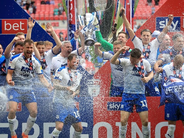 Details of Tranmere Rovers' promotion party revealed after League Two play-off final victory over Newport
