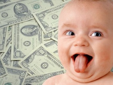 Young, Famous and Rich: 10 Most Expensive Celebrity Baby Pictures
