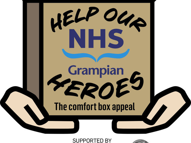 HELP OUR NHS GRAMPIAN HEROES: Comfort box appeal launched to support brave health service staff
