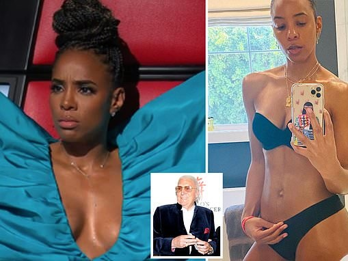 Radio broadcaster John Laws, 84, goes on a bizarre rant about Kelly Rowland for showing cleavage