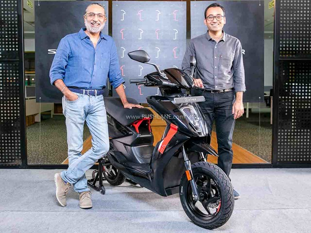 Ather 450X Series1 Collector's Edition Scooter Launched – Sporty and Black