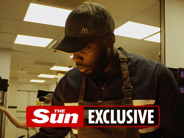 Lawrence Okolie plans to own a McDonald's restaurant after being inspired to box while working tills at fast food chain