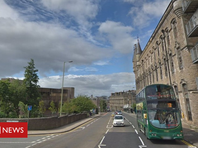 Man injured after being hit by cyclist in Dundee