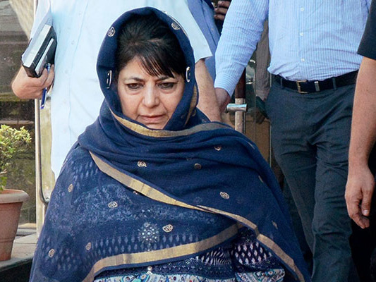 Jammu And Kashmir Chief Minister Mehbooba Mufti Tweets For The First Time