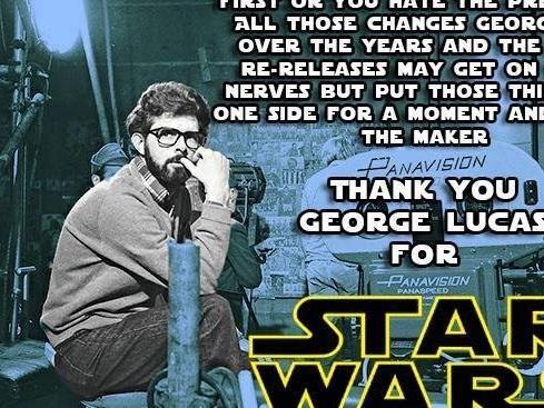 Happy Birthday, Star Wars. I Raise My Glass Of Blue Milk To You