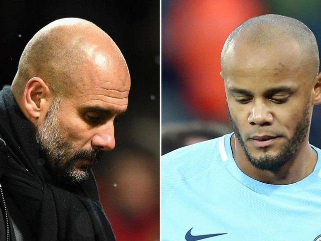 Man City manager Pep Guardiola concedes defeat over Vincent Kompany