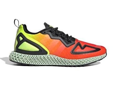 Heatmap-Inspired Tonal Runners - adidas' ZX 2K 4D Boast a New Tonal Update that Has a Gradient Look (TrendHunter.com)