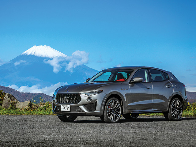 Review: Maserati Levante Trofeo review, test drive