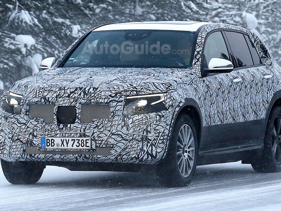 Mercedes' All-Electric Crossover Braves Harsh Winter Conditions