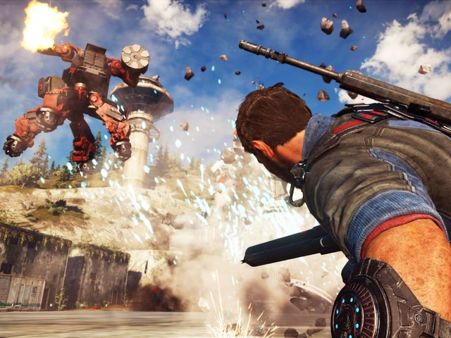 Just Cause 3 limited free trial available now on Steam, game 75% off