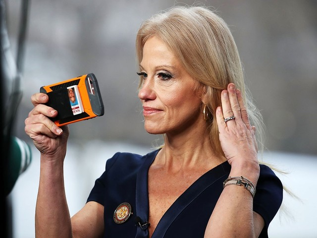 Kellyanne Conway Is the Slipperiest Political Flack in History