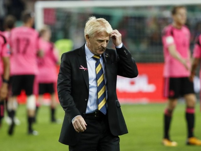 Gordon Strachan quits role as Scotland manager as David Moyes emerges as frontrunner for job