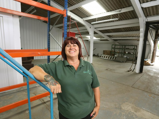 Colchester Foodbank's joy at new warehouse and shop