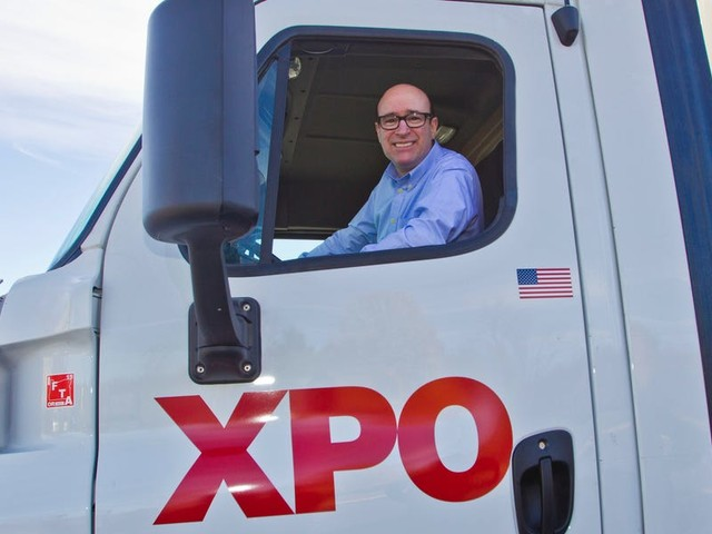 Citi visited XPO Logistics' HQ — here's why its research team now thinks the transportation giant's stock could more than double in the next 2 years. (XPO)