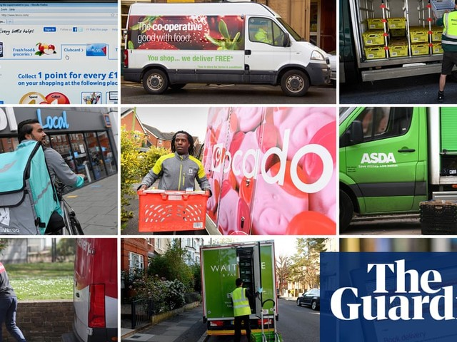 Supermarket deliveries: how UK services stack up for price and choice