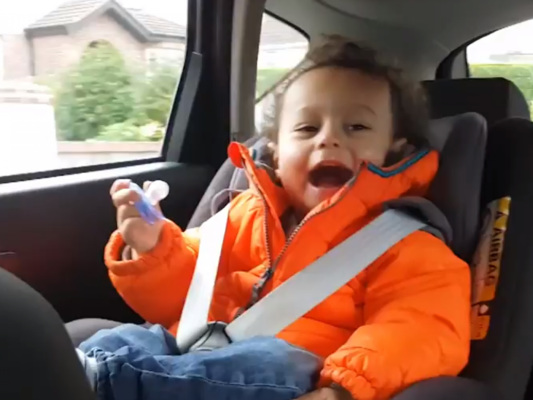 Bank ad ordered to be changed after child shown wearing puffy jacket in car seat