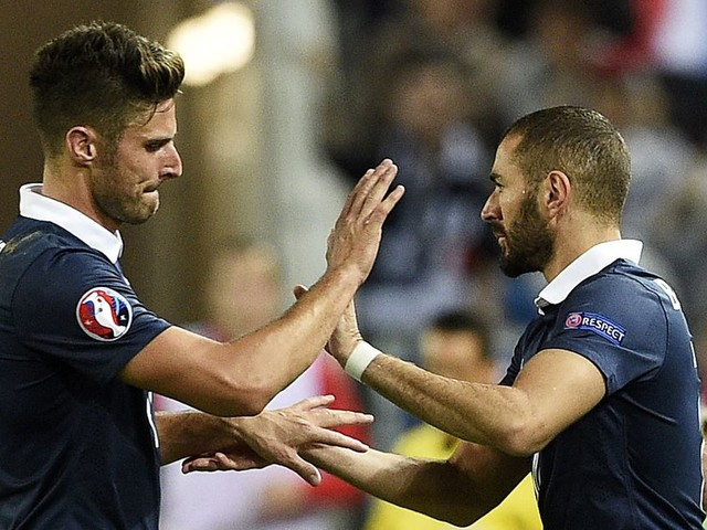 Karim Benzema isn't backing down from his comments on Olivier Giroud