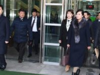 Just in: North Korea orchestra arrives in South