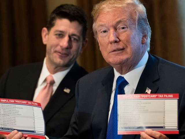 A new government report shows most Americans would get a tax cut under the GOP tax plan — but many would pay more
