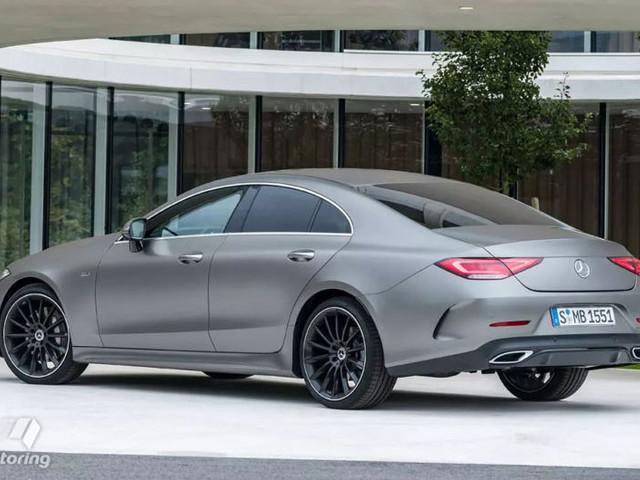 2018 Mercedes-Benz CLS leaks online ahead of LA reveal