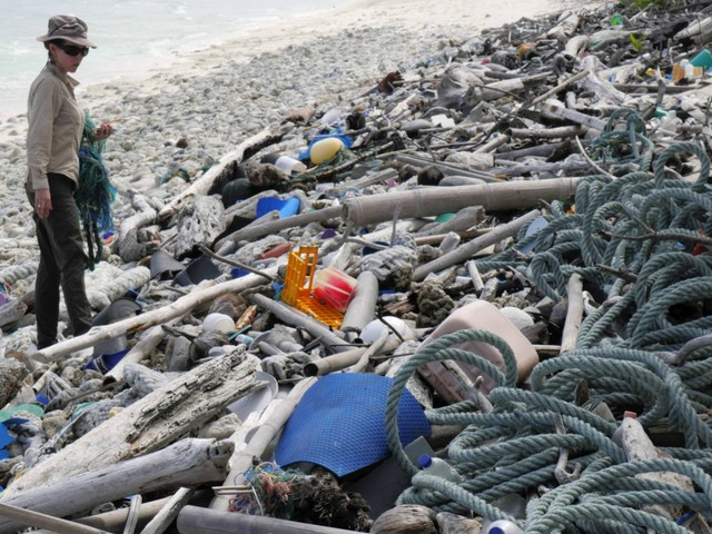 Scientists found 414 million pieces of trash on these tiny islands in the Indian Ocean — more proof that the plastic problem is out of control