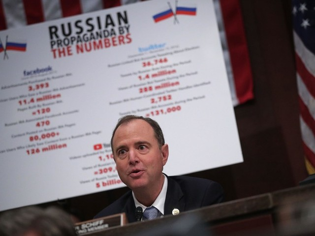 """Rep. Schiff: Evidence Against Trump Campaign in Russia Probe Is """"Pretty Damning"""""""