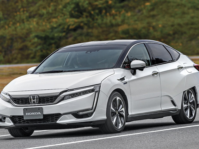 Review: Honda FCV Clarity review, test drive