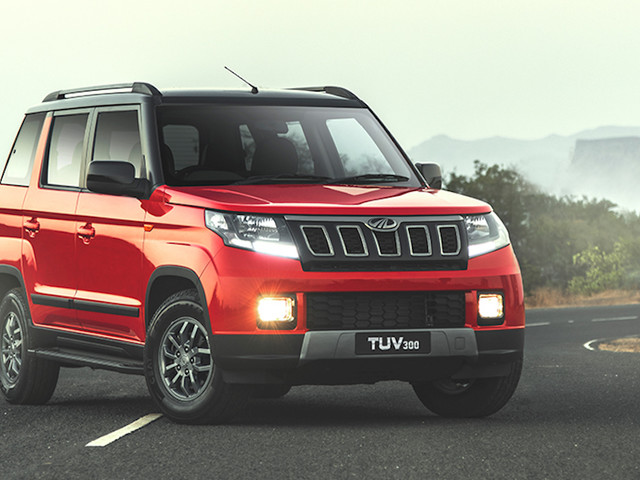 Mahindra TUV300 Facelift Launched, Priced From Rs. 8.38 Lakhs