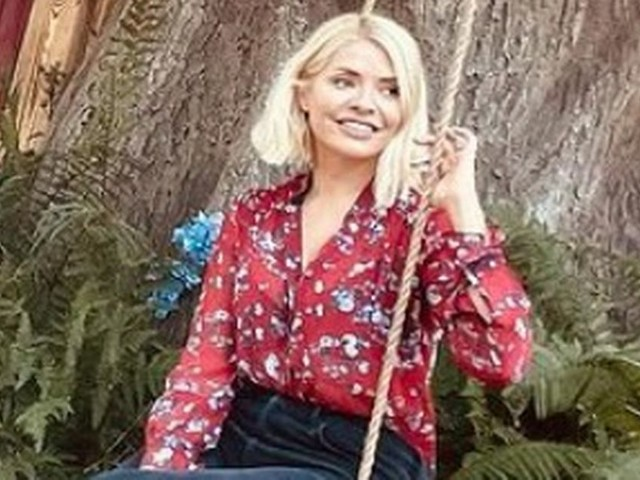 Holly Willoughby and daughter Belle visit Winnie the Pooh's home for cute staycation
