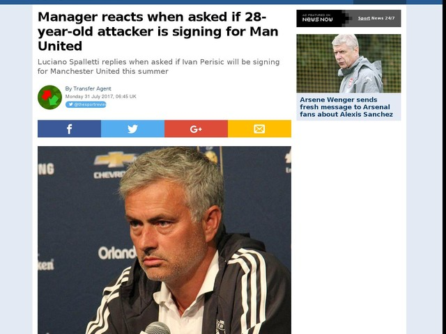 Manager reacts when asked if 28-year-old attacker is signing for Man United