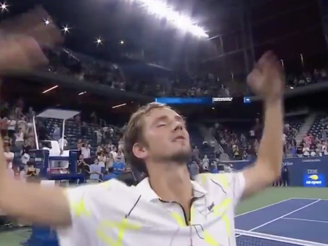 23-year-old Russian tennis star Daniil Medvedev taunted a booing crowd at the US Open: 'I won because of you'