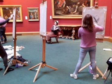Free Art Classes at the National Galleries of Scotland