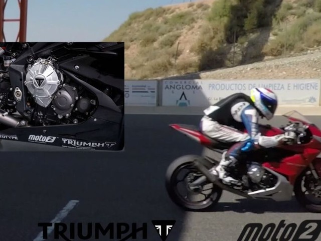 Listen To The Eargasmic Sound Of The Triumph 765cc Moto2 Engine At Full Chat