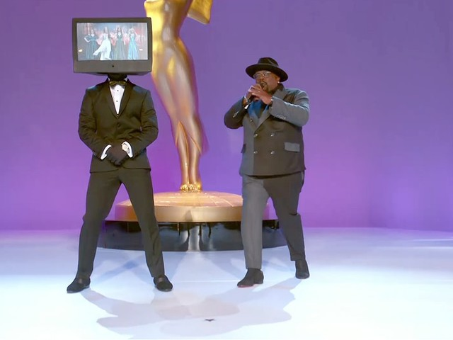 Cedric the Entertainer Opens 2021 Emmys With TV-Themed Biz Markie Tribute (Video)