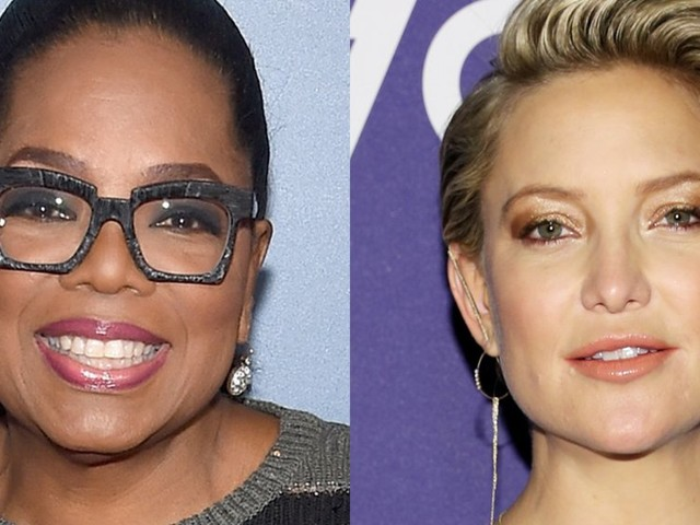 Oprah Winfrey welcomed Kate Hudson to the Weight Watchers family on FaceTime — watch